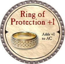 Ring of Protection +1 - 2007 (Platinum)