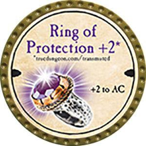 Ring of Protection +2 - 2014 (Gold)