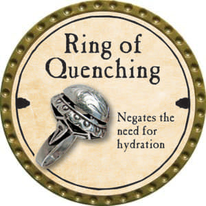 Ring of Quenching - 2014 (Gold)