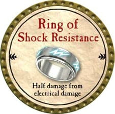 Ring of Shock Resistance - 2009 (Gold) - C26
