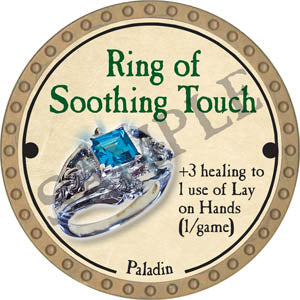 Ring of Soothing Touch - 2017 (Gold)