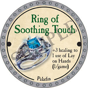 Ring of Soothing Touch - 2017 (Platinum)