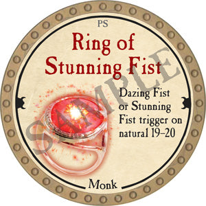 Ring of Stunning Fist - 2018 (Gold)