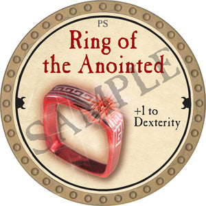 Ring of the Anointed - 2018 (Gold) - C37