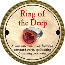 Ring of the Deep - 2011 (Gold)