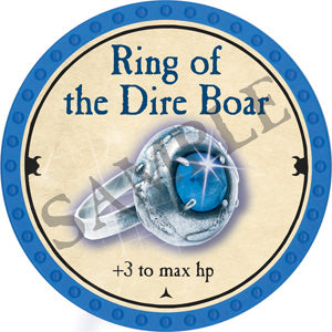 Ring of the Dire Boar - 2018 (Light Blue) - C26