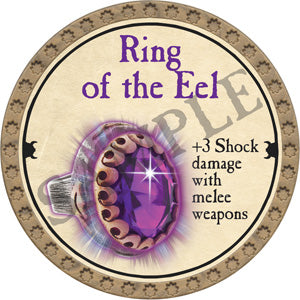 Ring of the Eel - 2018 (Gold) - C12