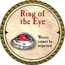 Ring of the Eye - 2007 (Gold) - C37