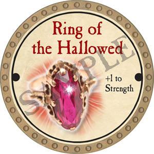 Ring of the Hallowed - 2017 (Gold) - C3