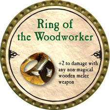 Ring of the Woodworker - 2010 (Gold)