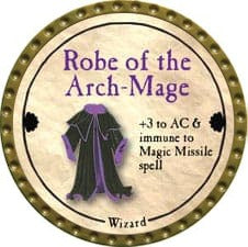 Robe of the Arch-Mage - 2011 (Gold) - C3