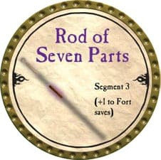 Rod of Seven Parts, Segment 3 - 2010 (Gold)