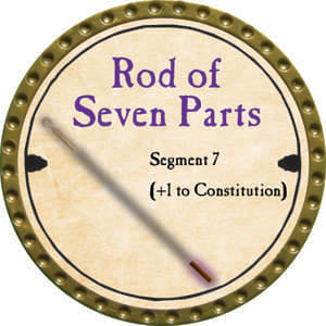 Rod of Seven Parts, Segment 7 - 2014 (Gold) - C37