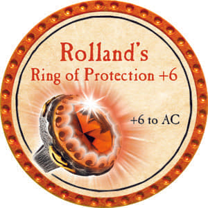 Rolland's Ring of Protection +6 - 2014 (Orange) - C1