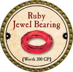 Ruby Jewel Bearing - 2013 (Gold)