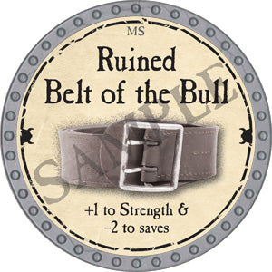 Ruined Belt of the Bull - 2018 (Platinum)