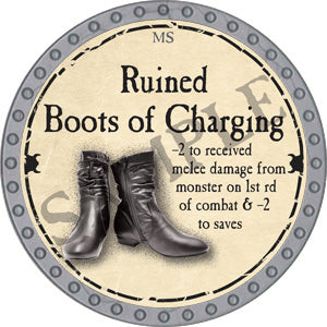 Ruined Boots of Charging - 2018 (Platinum)
