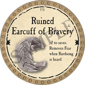 Ruined Earcuff of Bravery - 2018 (Gold)