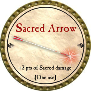 Sacred Arrow - 2012 (Gold) - C37