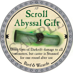 Scroll Abyssal Gift - 2018 (Platinum)