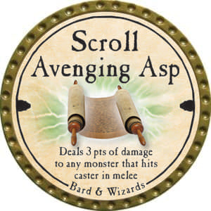 Scroll Avenging Asp - 2014 (Gold)