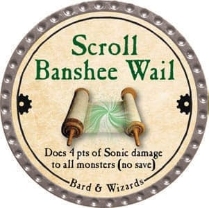 Scroll Banshee Wail - 2013 (Platinum)