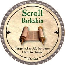 Scroll Barkskin - 2009 (Platinum)
