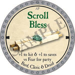 Scroll Bless - 2020 (Platinum)
