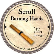 Scroll Burning Hands - 2007 (Platinum)