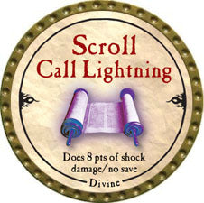 Scroll Call Lightning - 2010 (Gold) - C37