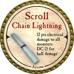Scroll Chain Lightning - 2007 (Gold)