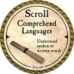 Scroll Comprehend Languages - 2007 (Gold)