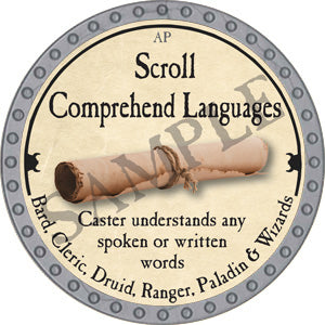 Scroll Comprehend Languages - 2018 (Platinum)