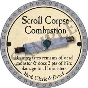 Scroll Corpse Combustion - 2017 (Platinum)