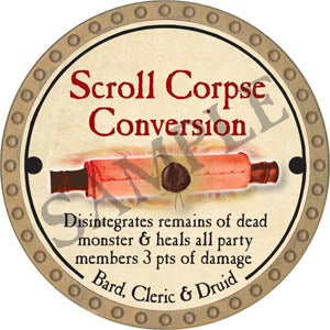 Scroll Corpse Conversion - 2017 (Gold)