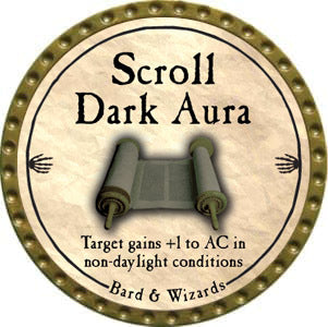 Scroll Dark Aura - 2012 (Gold)
