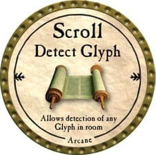 Scroll Detect Glyph - 2009 (Gold)