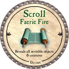 Scroll Faerie Fire - 2009 (Platinum)