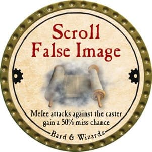 Scroll False Image - 2013 (Gold) - C22
