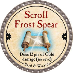 Scroll Frost Spear - 2013 (Platinum)
