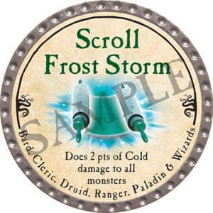 Scroll Frost Storm - 2016 (Platinum)