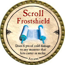 Scroll Frostshield - 2010 (Gold)