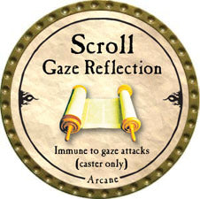 Scroll Gaze Reflection - 2010 (Gold)