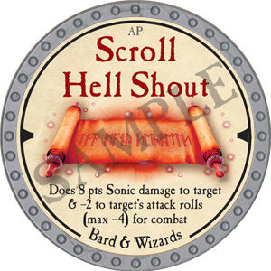 Scroll Hell Shout - 2019 (Platinum)
