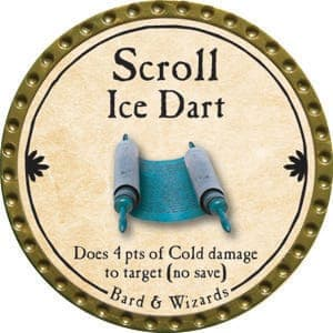 Scroll Ice Dart - 2015 (Gold)