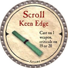 Scroll Keen Edge - 2007 (Platinum)