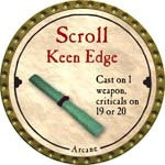 Scroll Keen Edge - 2008 (Gold)