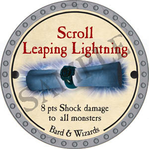 Scroll Leaping Lightning - 2017 (Platinum)