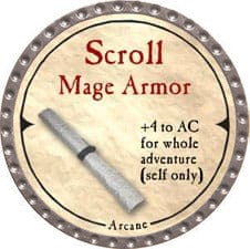 Scroll Mage Armor - 2007 (Platinum)