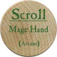 Scroll Mage Hand - 2006 (Wooden) - C37